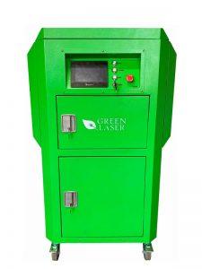 Greenlaser lézeres tisztító gép front