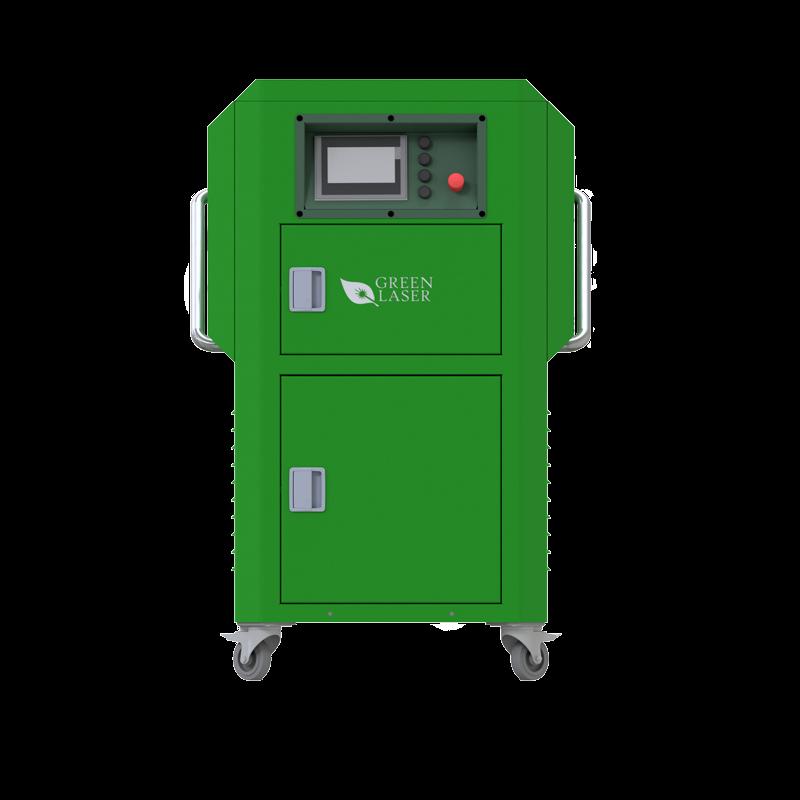 greenlasersystem bemutató kép